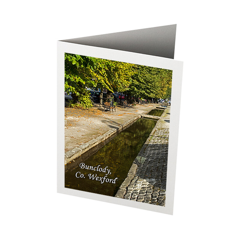 Photo Card - The Mall, Bunclody