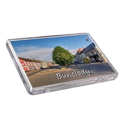 Fridge Magnet - Bunclody Streetscape