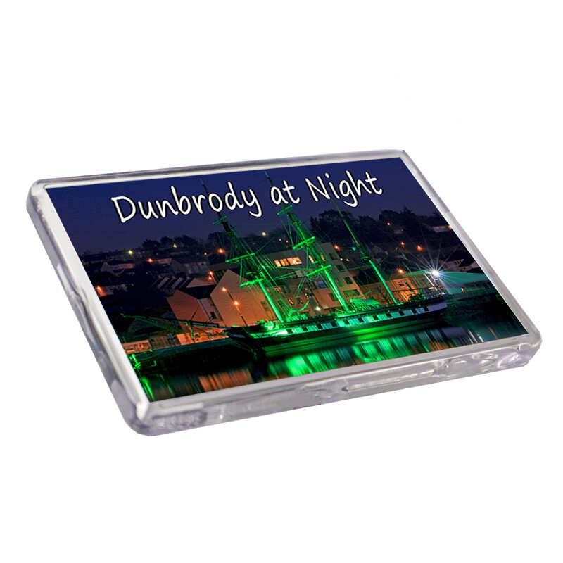 Fridge Magnet - Dunbrody at Night