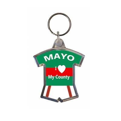 Keyring - I love my County - Mayo