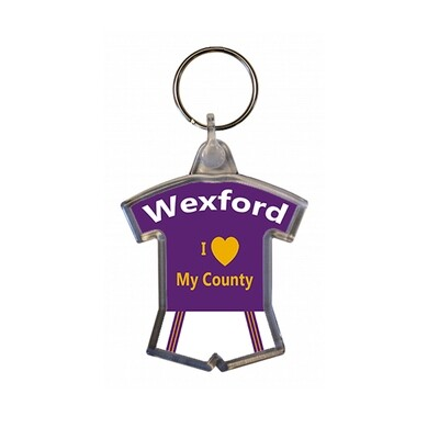 Keyring - I love my County - Wexford