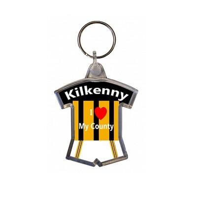 Keyring - I love my County - Kilkenny