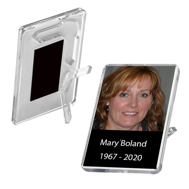 Memorial Mini Photo Frames/Magnets