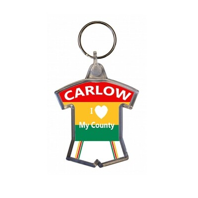Keyring - I love my County - Carlow