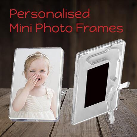 Personalised Mini Photo Frames