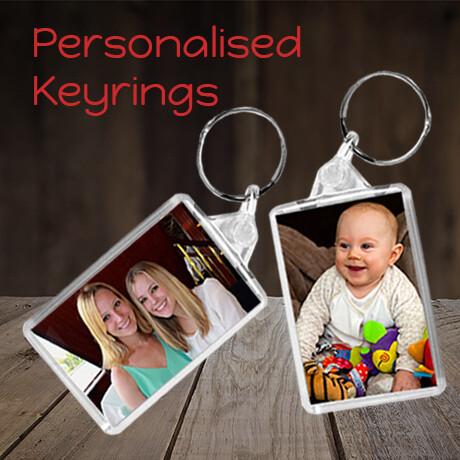 Personalised Keyrings