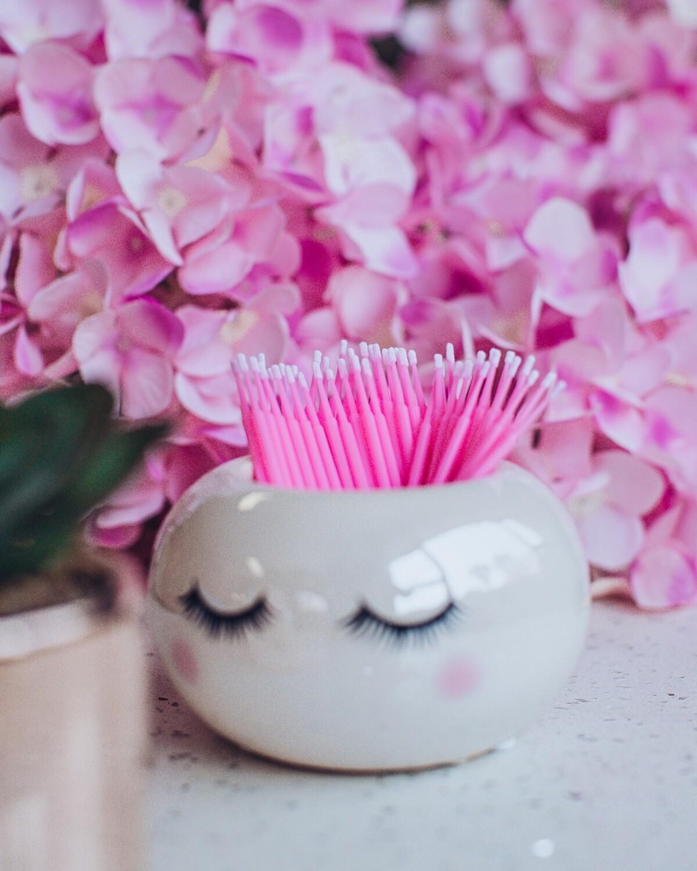 Microfibre Brushes - Pink (50)
