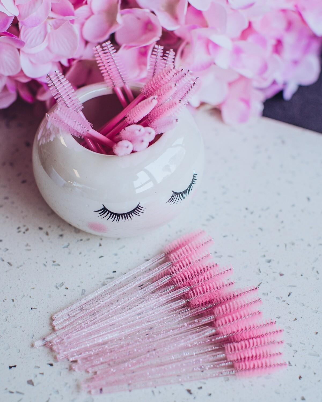 Mascara Wand (50) Pink Glitter