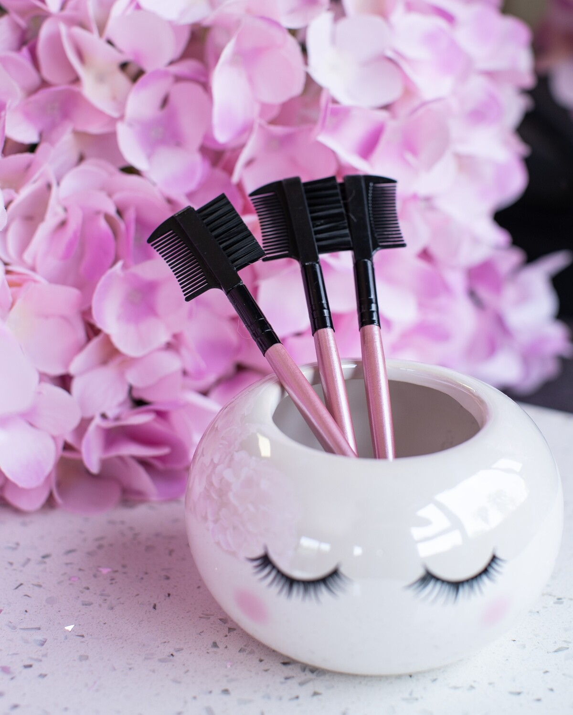 Pink Brow Brush
