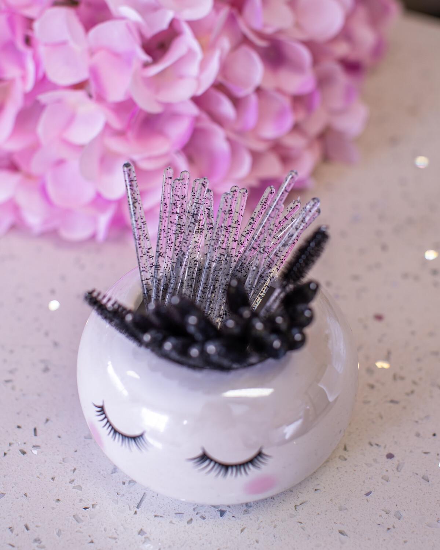 Mascara Wand (50) Black Glitter