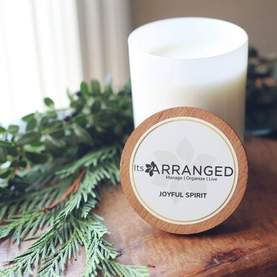 Joyful Spirit - Hand Poured Soy Candle