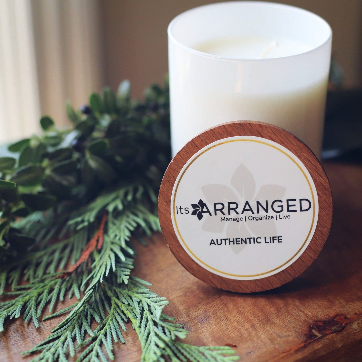 Authentic Life - Hand Poured Soy Candle
