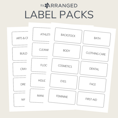 Label Packs