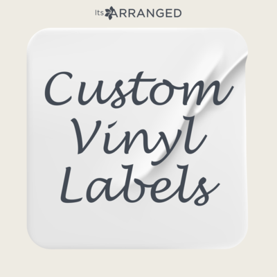Custom Vinyl Labels