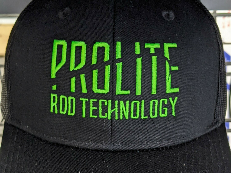 Black Snapback w/ Green Prolite Logo