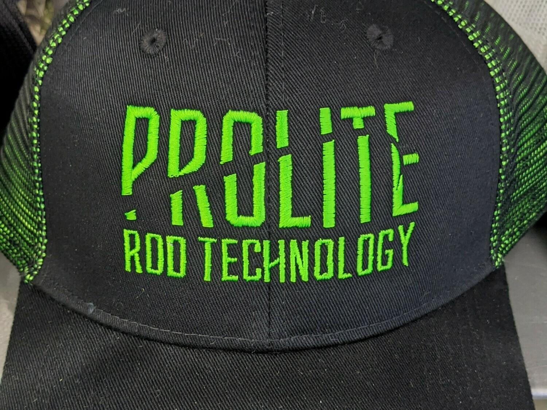 Black/Green Snapback w/ Green Prolite Logo