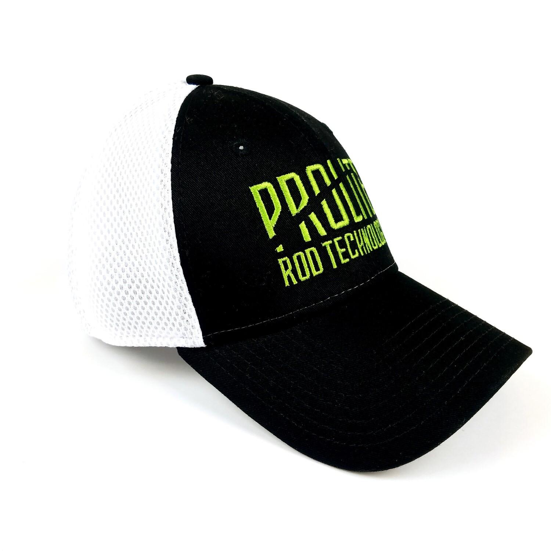 Black/White Flexfit w/ Prolite Green Logo