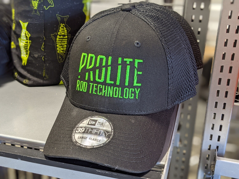 Black Flexfit w/ Prolite Green Logo