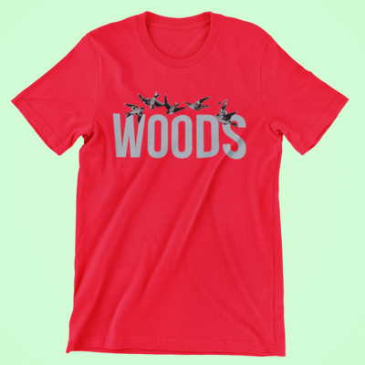 WOODS T-Shirt | Red