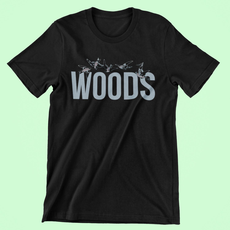 WOODS T-Shirt   Black