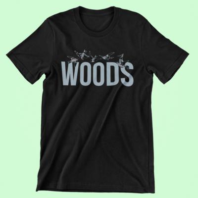 WOODS T-Shirt | Black