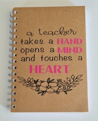 Diaries, note books and visual art diaries