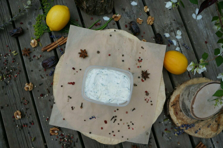 Сыр мягкий творожный. Козий