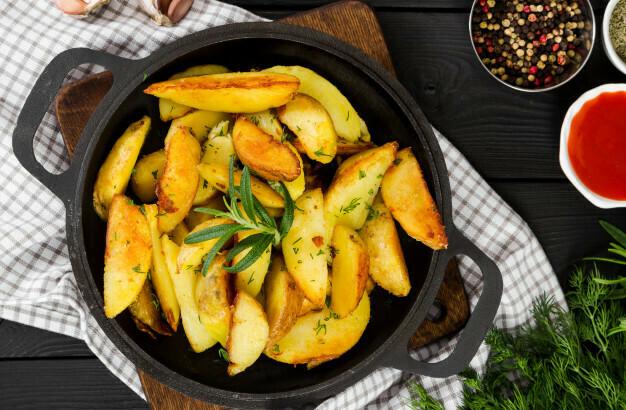 Картофель деревенский полуфабрикат