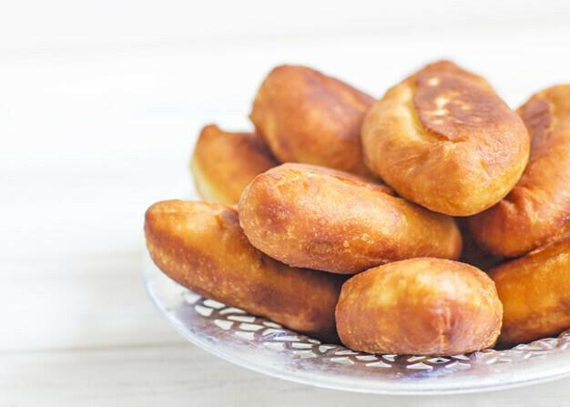 Мини-пирожки со шпиком  «По-латышски»