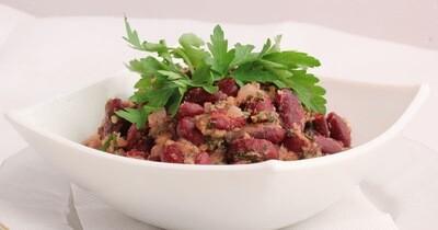 Салат «Красная фасоль»