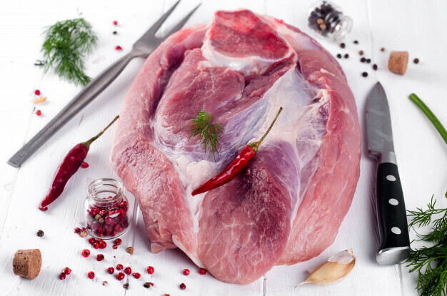 Свинина мясо на кости