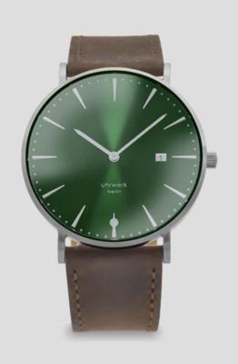 Armbanduhr Herr Mann - Coffee Leather