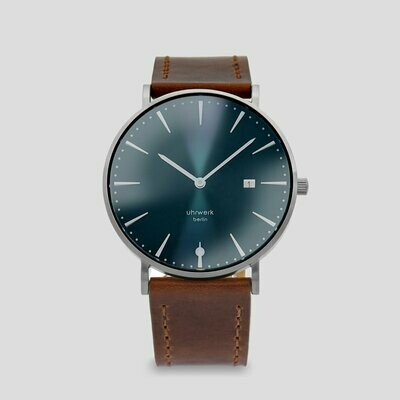 Armbanduhr Herr Bert - Brown Leather