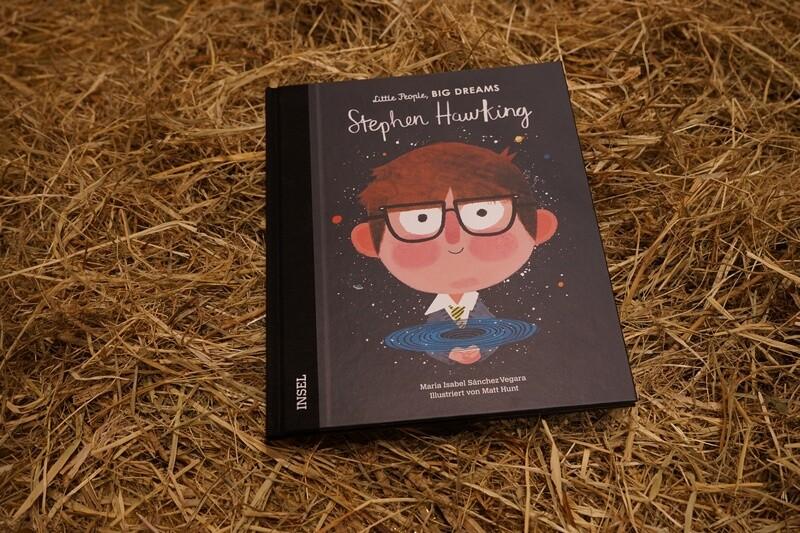 Little People, big dreams, Steven Hawking