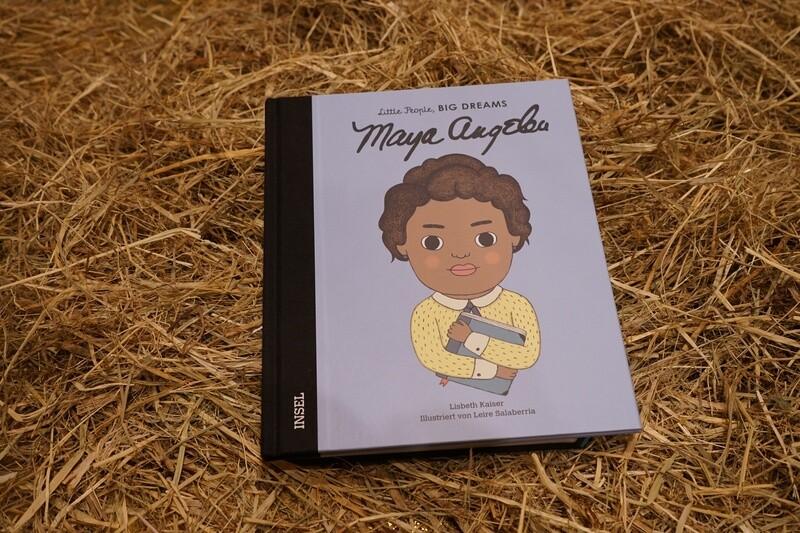 Little People, big dreams, Maya Angelou
