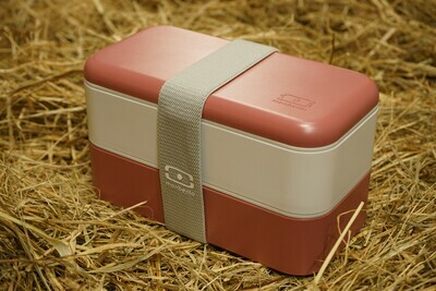 Monbento Box rot-weiß