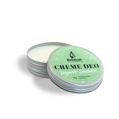 Bio Balsam Creme Deo Ingwer Limette