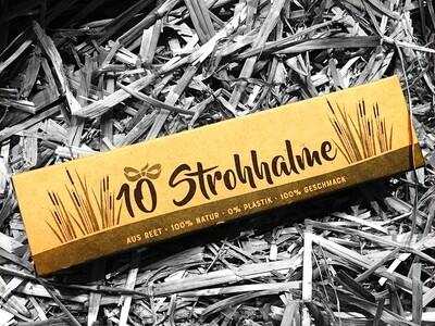 Reet-Strohhalme 10 St.