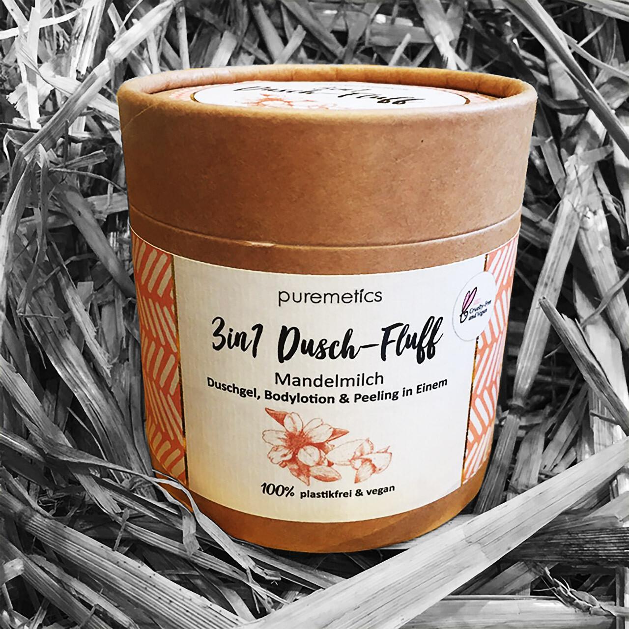 3in1 Dusch-Fluff Mandelmilch