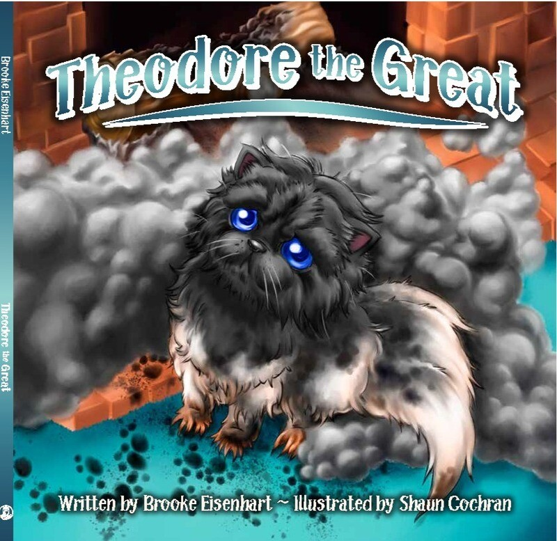 PRE-ORDER THEODORE THE GREAT  plus Author Signature to that Special big or little person please email name choice to brooke@paperclipsocial.com