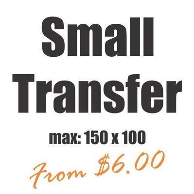 Small Vinyl Heat Transfer