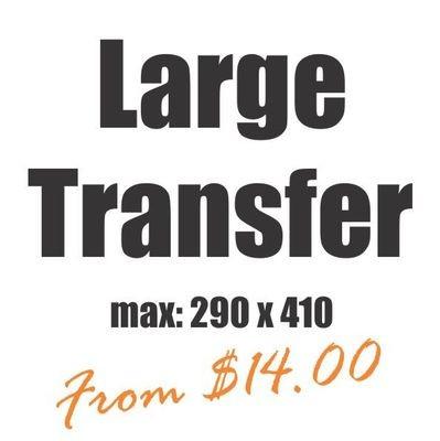 Large Vinyl Heat Transfer