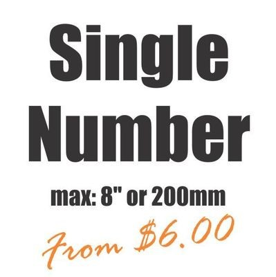 Large Single Number Vinyl Heat Transfer