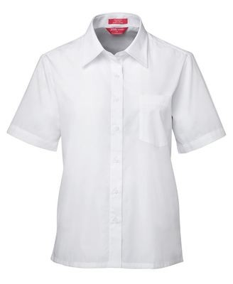 Ladies S/S Poplin Shirt