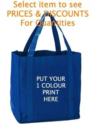 Non-woven Shopping Tote Bag Screen Printed (25)