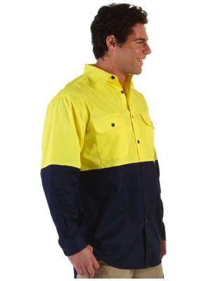 Hi Vis L/S 150G Work Shirt