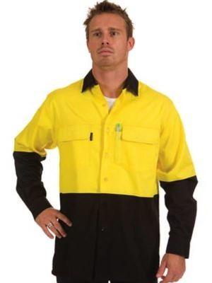 HiVis Cotton Drill Shirt