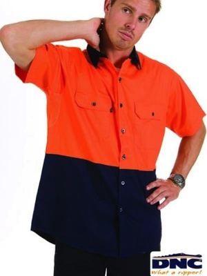 HiVis Two Tone Cool Breeze Cotton Shirt