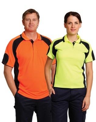 Hi Vis Unisex Polo Shirt
