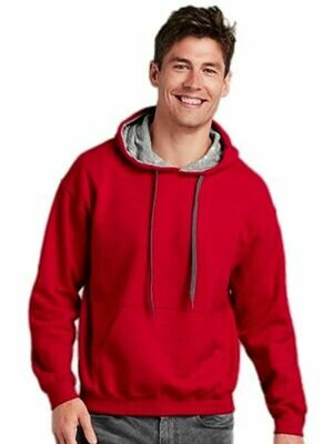 Heavy Blend Adult Contrast Hooded Sweatshirt